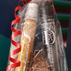 Confezione regalo 2 flaconi di spezie e miscele